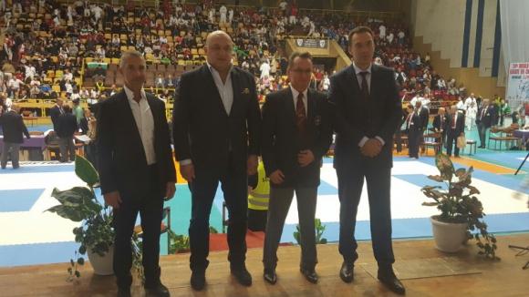Министър Кралев откри световното по шотокан карате-до в Бургас