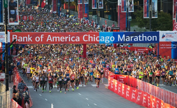 Кенийци триумфираха в маратона на Чикаго
