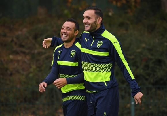 Коклен и Перес готови за следващия мач на Арсенал