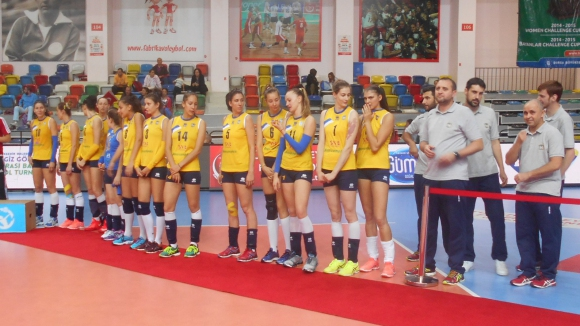 Марица с бронзови медали на международен турнир в Турция