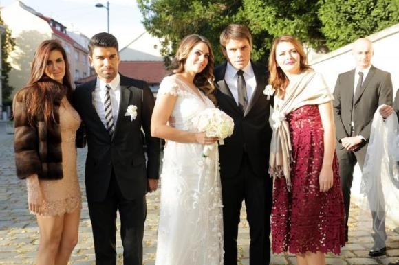 Вукоевич се ожени за бивша Мис Хърватия