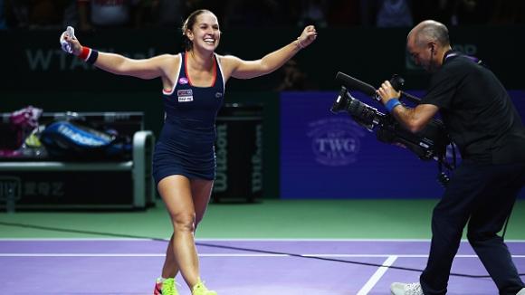 Цибулкова е на финал в Сингапур