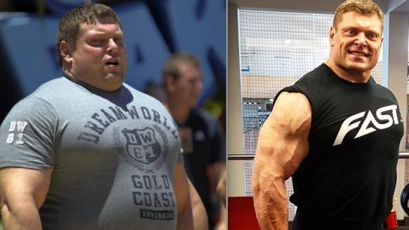 Вижте невероятната трансформация на най-силния мъж на планетата (снимки+видео)