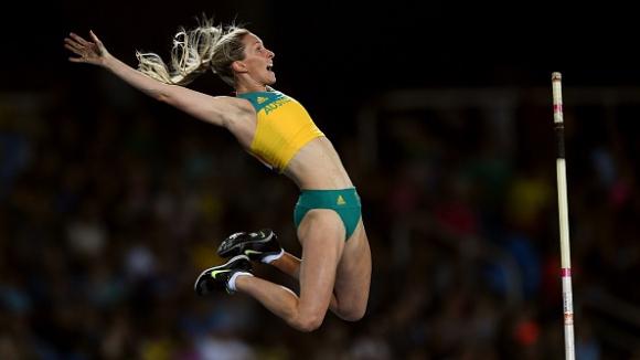 Рекордьорката на Австралия в овчарския скок приключи с атлетиката