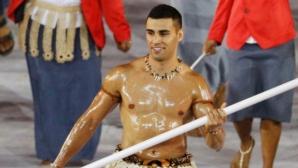 Голият знаменосец на Тонга иска да участва и на зимна олимпиада