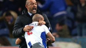 Измъчена победа доближи Порто до Бенфика
