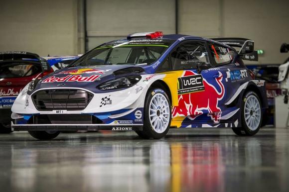 Ford Fiesta - два различни дизайна в Световния рали шампионат догодина (Снимки)