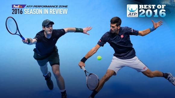 Най-добрите изпълнения в мъжкия тенис през 2016 година (видео)