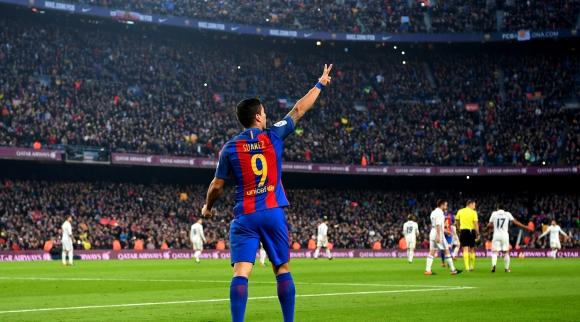 Луис Суарес беше избран за най-добър голмайстор в света