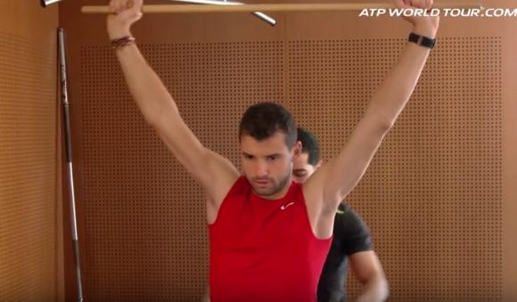 Как протича един ден на Григор Димитров (видео)