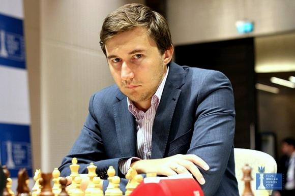 Сергей Карякин взе световната титла в блица, Чепаринов е 33-и