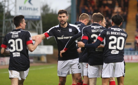 Гаджалов изпрати годината с гол в шотландския елит