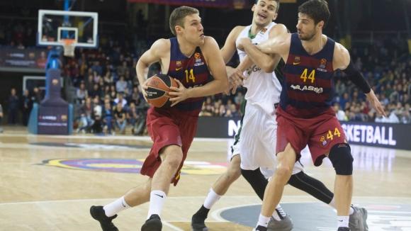 Везенков помогна за победа на Барселона в Испания