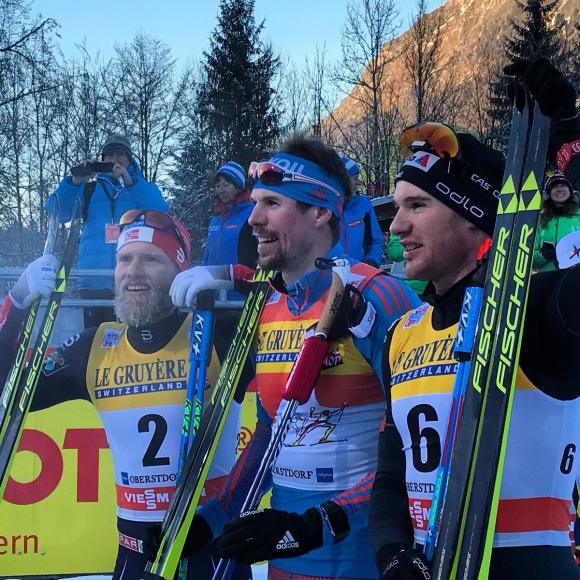 """Устюгов спечели трета поредна победа в """"Тур дьо ски"""", Цинзов - 36-и (видео)"""