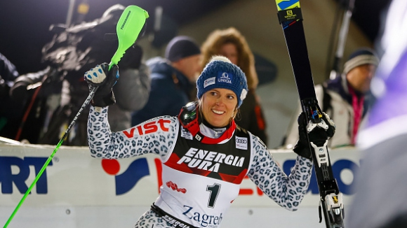 Зузулова се възползва от грешката на Шифрин и спечели слалома в Хърватия