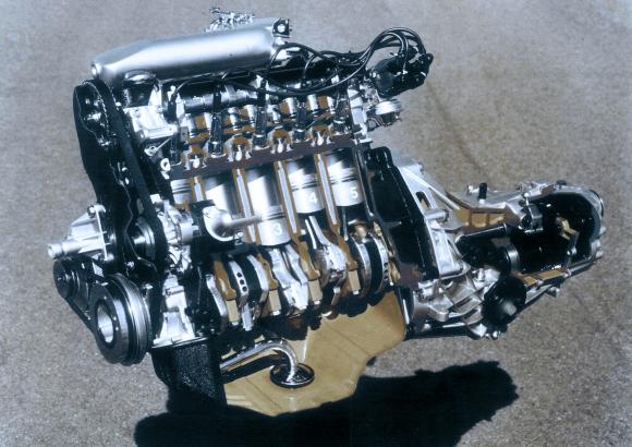 Една 40-годишна традиция: 5-цилиндровият двигател на Audi