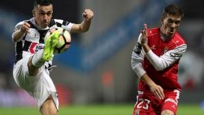 Бивш халф на Лудогорец вкара важен гол в Португалия (видео)