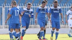 Несебър наказа грешки на младия вратар на Витоша и стигна до драматичен успех