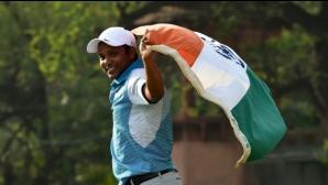 """""""Домашен"""" герой спечели голф предизвикателството Indian Open"""
