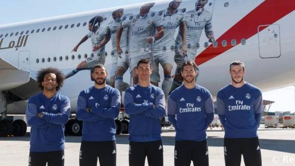 Спа, душове и частни кабини в новия самолет на Реал Мадрид (видео+снимки)