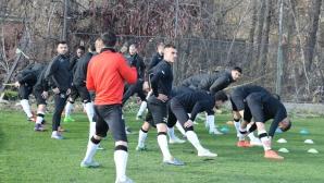 Групата на Локо Пд за мача с ЦСКА-София