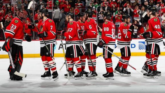 Чикаго и Кълъмбъс си осигуриха място в плейофите на НХЛ