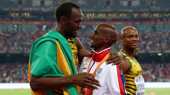 И Мо Фара ще уважи последното състезание на Болт в Ямайка