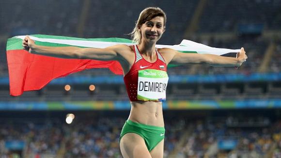 Мирела Демирева ще скача на Диамантената лига в Юджийн