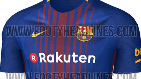 Така ще изглежда новата фланелка на Барселона