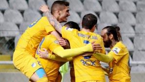 Живко Миланов с жълт картон при победа на АПОЕЛ (видео)
