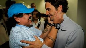 Марадона за Федерер: Поздравления, Сеньор Тенис!