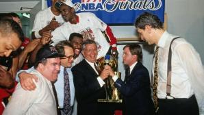 Почина Джери Краузе, изградил шампионската династия на Чикаго Булс
