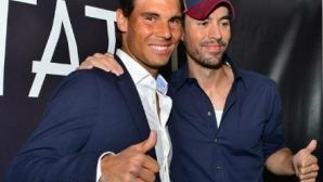 Надал и Енрике Иглесиас отвориха ресторант в Маями (видео)