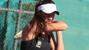 Вангелова се класира на 1/4-финал на двойки в Анталия