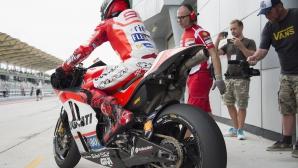 Ето на кое животно Лоренсо оприличи новия си мотор в MotoGP (видео)