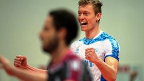Теди Салпаров и Зенит продължават да защитават титлата си в Шампионската лига