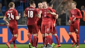 Чехия разгроми Литва за едно полувреме