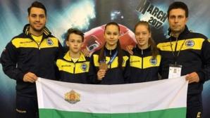 Отново златни медали за българските таекуондисти