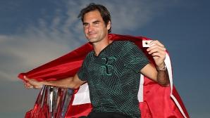 """Федерер най-вероятно пропуска """"Мастърс""""-а в Монте Карло, Григор е на линия"""