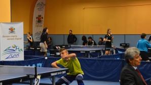 Отново тенис на маса шоу в Открития шампионат на София утре