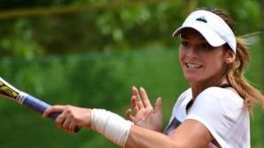 Вангелова отпадна на четвъртфиналите на двойки в Анталия