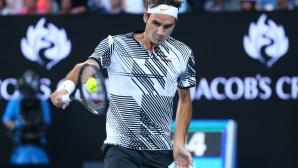 Тайната на фамозния успех на Федерер през 2017 година