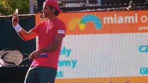 Томи Хаас: Игуаната знаеше, че съм в Маями за последно