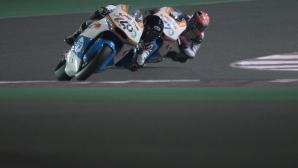 Първата катастрофа за сезона в MotoGP стана факт (видео)