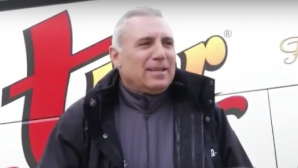 Посрещат с овации Христо Стоичков на мач в Мексико