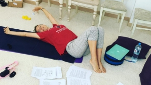 Азаренка си снима плочките три месеца след раждането