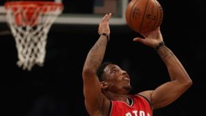 Дероузън избухна с 40 точки за обрат на Торонто