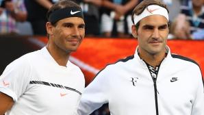 Федерер си пожела Надал на финала в Маями