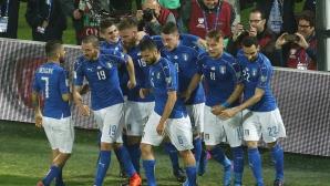 Италия - Албания 1:0, гледайте тук
