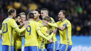 В нашата група: Швеция отупа Беларус със странни голове (видео)